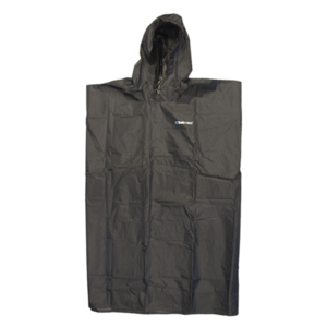 Raincoat TREKMATES Essential Poncho black, TrekMates
