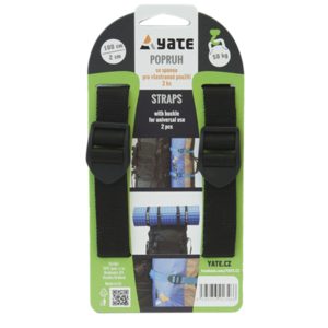 Strap YATE with buckle 2x75 cm 2 pc, Yate