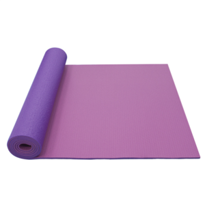 Mat to yoga YATE yoga mat double layer / pink / purple, Yate