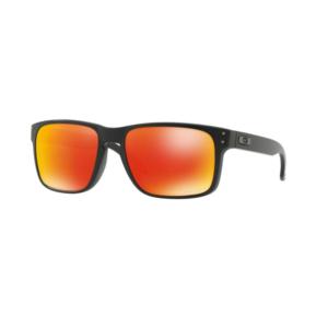 Sun glasses OAKLEY Holbrook Matt Black w/ PRIZM Ruby OO9102-E255, Oakley