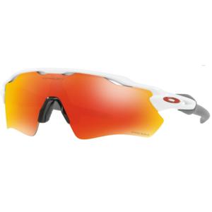 Sun glasses OAKLEY Radar EV Path Pole Wht w/ PRIZM Ruby OO9208-7238, Oakley