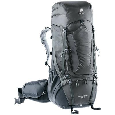 Backpack Deuter Aircontact Pro 60+15 graphite-black, Deuter