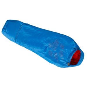 Sleeping bag JACK WOLFSKIN Grow Up Kids blue left, Jack Wolfskin