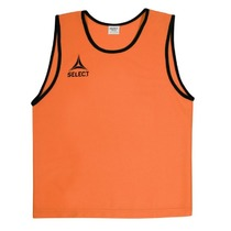 Distinguishing shirt Select Bibs Super orange, Select