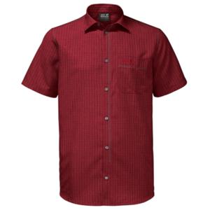 Shirts JACK WOLFSKIN El Dorado Shirt Men red, Jack Wolfskin