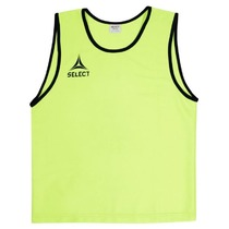Distinguishing shirt Select Bibs Super yellow, Select