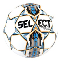 Football ball Select FB Brilliant Replica white blue, Select