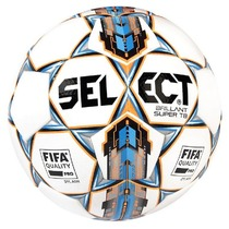 Football ball Select FB Brilliant Super white blue, Select