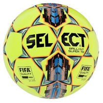 Football ball Select FB Brilliant Super yellow blue, Select