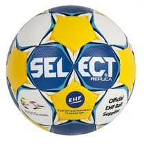 Handball ball Select HB Ultimate Replica EC Sweden blue yellow, Select