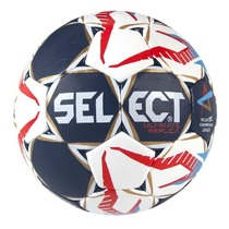 Handball ball Select HB Ultimate Replica Champions League Men white red, Select