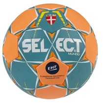 Handball ball Select HB Mundo green orange, Select