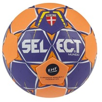 Handball ball Select HB Mundo purple orange, Select