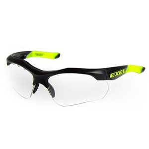 Protective eyewearexel X100 EYE GUARD senior black, Exel