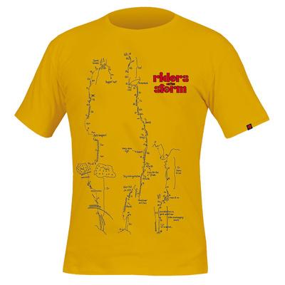 T-Shirt Direct Alpine Flash camel / petrol (riders), Direct Alpine