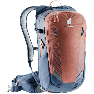 Cycling backpack Deuter Compact EXP 14 redwood / marine, Deuter