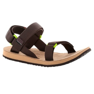 Sandals SOURCE Urban Men's Leather Brown /Green, Source
