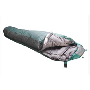 Sleeping bag Rock Empire Ontario long green / gray right, Rock Empire