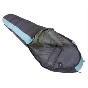 Sleeping bag Rock Empire Ontario Plus regular Grey-LightBlue left, Rock Empire