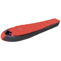 Sleeping bag HANNAH Bivak 300 Red / Dark shadow 195 cm, Hannah