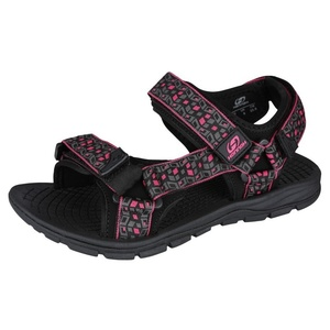 Sandals HANNAH Feet Black / Red, Hannah