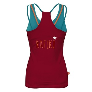 Undershirt Rafiki Kiss Beaujolais / blue, Rafiki