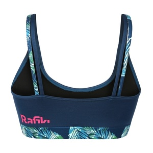 Sports bra Rafiki Passion Majolica Blue, Rafiki