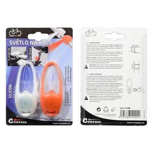 Cycling light Compass SILICON set 2ks, Compass