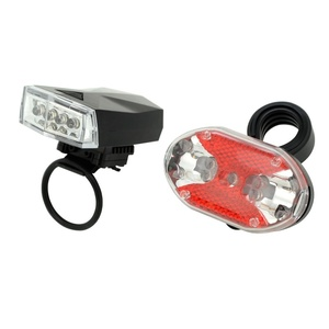 Cycling light Compass Front & Back 1+1 (4+9LED), Compass