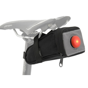 Cycling under seat with back LED light Compass