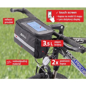 Cycling to handlebars Compass, Compass