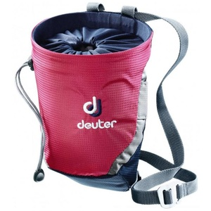 Bag to magnesium Deuter Gravity Chalk Bag II Magenta-navy, Deuter