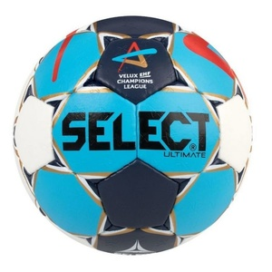 Handball ball Select HB Ultimate Champions League Men white blue, Select