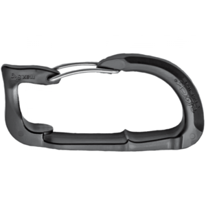 Auxiliary carabiner Rock Empire Helper Black, Rock Empire