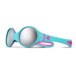 Sun glasses Julbo Loop Spectron 4 Baby, rose fluo / turquoise / gris, Julbo