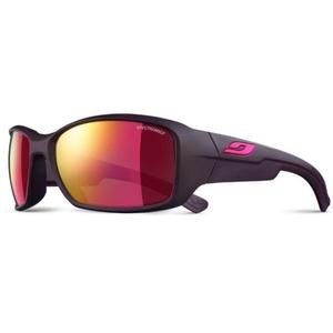 Sun glasses Julbo Whoops Spectron 3 CF, aubergine / pink logo, Julbo