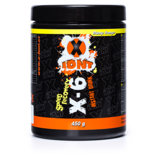 Drink in powder YATE X-ion X6 450 g chocolate, X-IONT