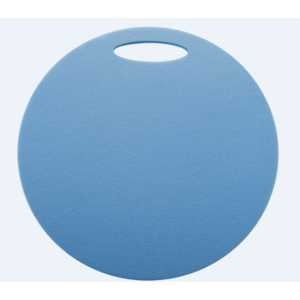 Seat Yate round 1 layer diameter 350 mm light. blue, Yate