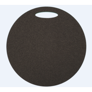 Seat Yate round 2 layer diameter 350 mm green / black, Yate