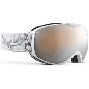 Ski glasses Julbo Ison Cat 3, white grey flower, Julbo