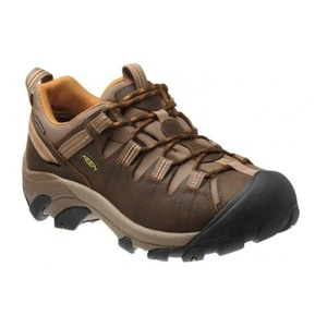 Shoes Keen Targhee II WP M, waterfalls brown / brown sugar, Keen