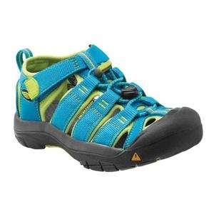 Sandals Keen Newport H2 Jr, hawaiian blue / green glow, Keen