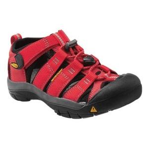 Sandals Keen Newport H2 Jr, ribbon red / gargoyle, Keen