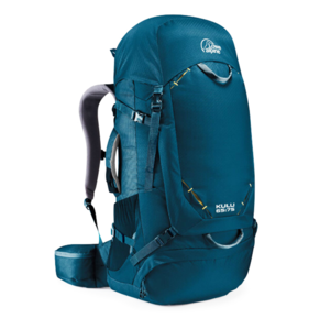 Backpack LOWE ALPINE Kulu 65:75 Azure Extended back, Lowe alpine