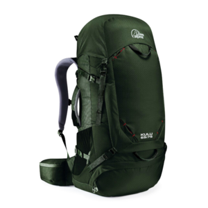 Backpack LOWE ALPINE Kulu 65:75 Magnetite Extended back, Lowe alpine