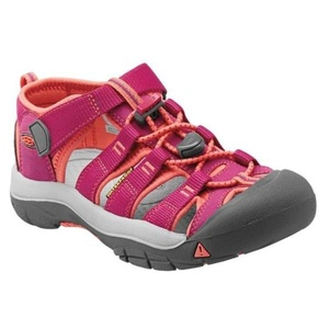 Sandals Keen NEWPORT H2 JR, very berry / fusion coral, Keen