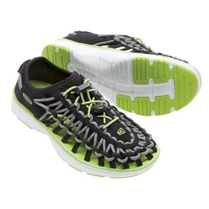Shoes Keen UNEEK O2 JR, black / macaw, Keen