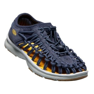 Shoes Keen UNEEK O2 JR, dress blues / neutral gray, Keen