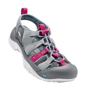 Sandals Keen NEWPORT EVO H2 W, neutral gray / raspberry, Keen