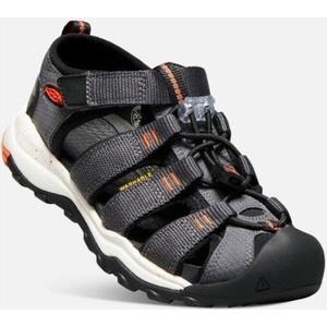 Sandals Keen NEWPORT NEO H2 JR, magnet / spicy orange, Keen